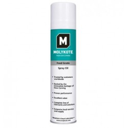 MOLYKOTE GRADE SPRAY OIL  400 ML